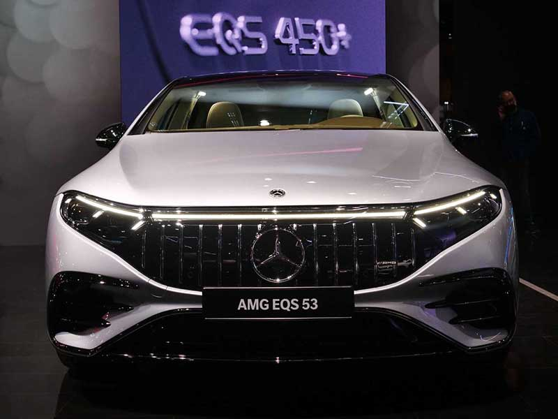 مرسدس AMG EQS ۲۰۲۲: اولين خودروي برقي AMG با ۷۵۱ اسب بخار